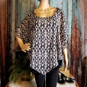 Alyx Woman Sheer Blouse with lining